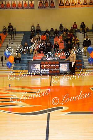 Basketball Senior Night vs SCHS