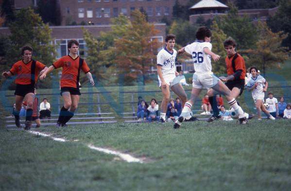 Men's Soccer Homecoming Game 1983