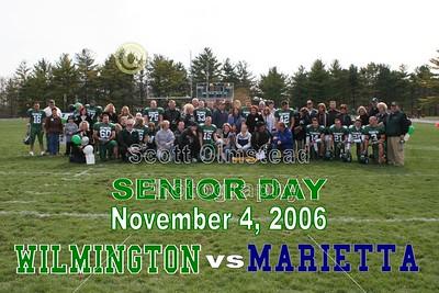 2006 Senior Day 11-04-06