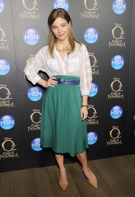 ". Savannah Wise attends the ""Oz The Great And Powerful\"" VIP screening at the Crosby Street Hotel on March 5, 2013 in New York City.  (Photo by Jamie McCarthy/Getty Images)"