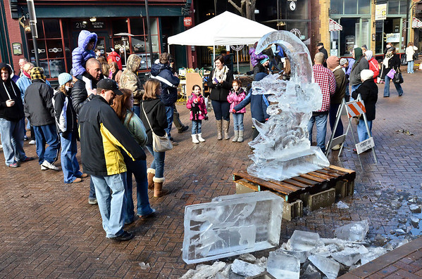 Fete De Glace - Ice Carving Contest - 2014