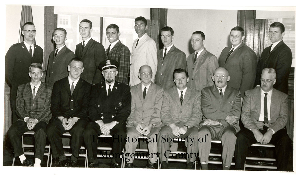 . This photo from the Historical Society of Montgomery County was taken at Norristown High School in the early 1960s.