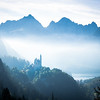 Bavarian Legends, Neuschwanstein Castle, Germany