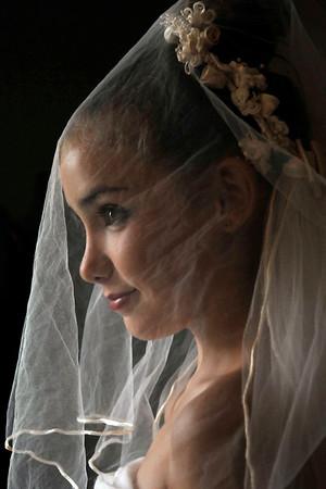 June 24 2014 - Sage Wedding Dress Up