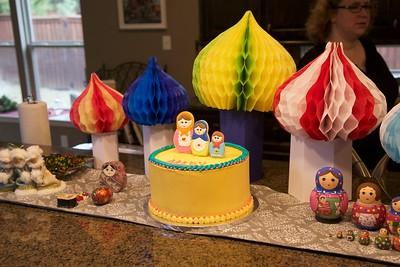 Mary's Matryoshka 13th Birthday Party