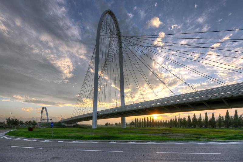 Vele di Calatrava (North Bridge) - Reggio Emilia, Italy - October 14, 2012