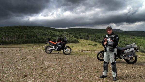 """Montana, Idaho, Utah 2009.                                    """"The Bike Retrieval Ride"""""""