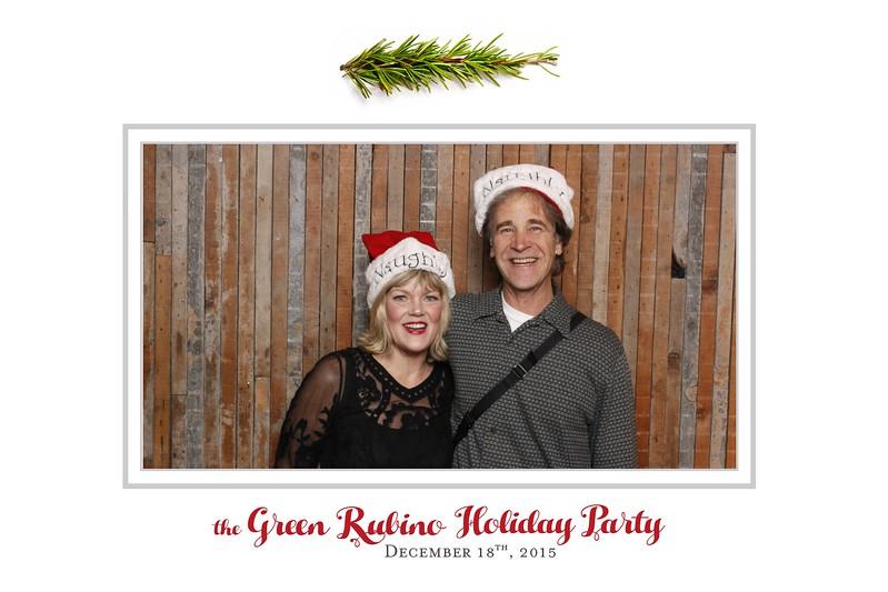 Celebrate the holidays with GreenRubino