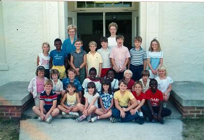 Nashville Elementary 1986-87