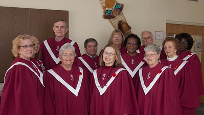 2015-11-08  Remembrance Service new choir robes