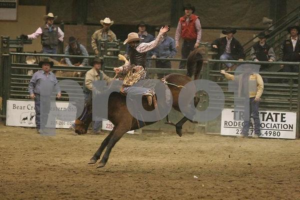 Tri-State Rodeo Saddle Bronc 02/03/2006