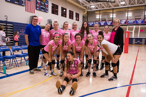 2018-10-17 WHS Girls Volleyball vs Concord Senior Night