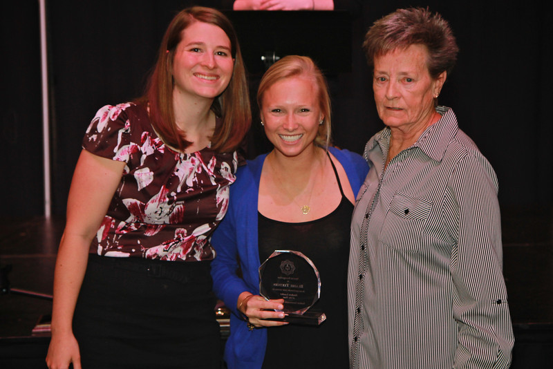 Student Leader of the Year: Blaire Teeters