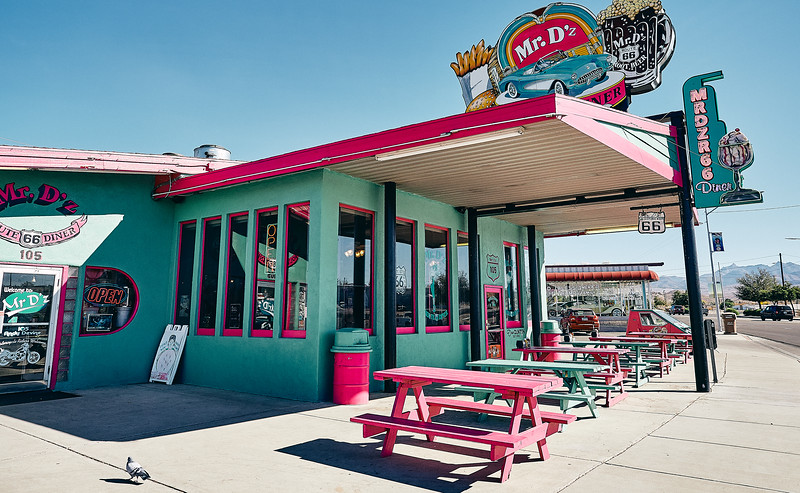 Route 66 - Mt D'z Diner, Kingman, Arizona