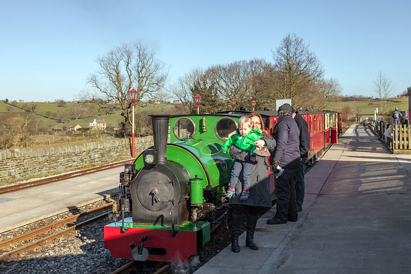Kirklees Light Railway, 25th February 2018