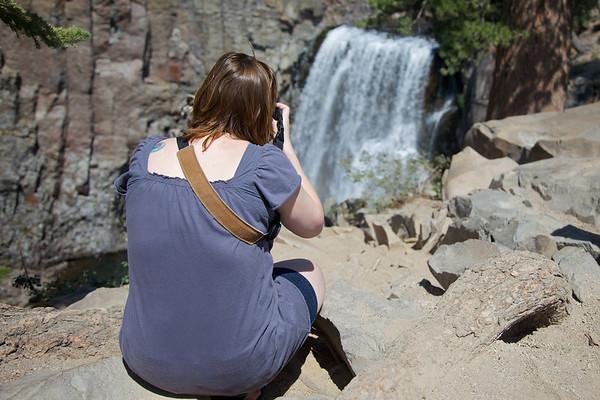 Mammoth Lakes, California - Devil's Postpile - Rainbow Falls