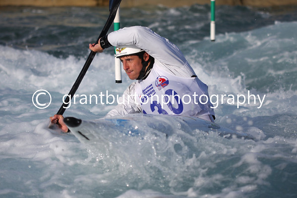 Semi-Final British Slalom Canoe Open 2013