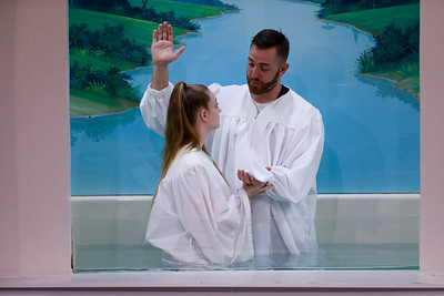 Chestnut Ridge Baptist Baptisms 3/15/20