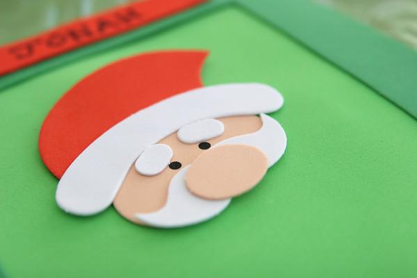 Santa Crafts at the Hlavins' - December 17, 2007
