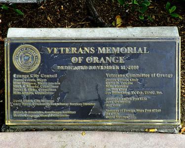 Orange Vet Memorial