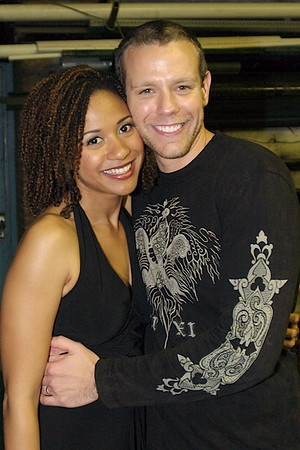 CENTERSTAGE Anual Gala 2007; Adam Pascal & Tracie Thoms