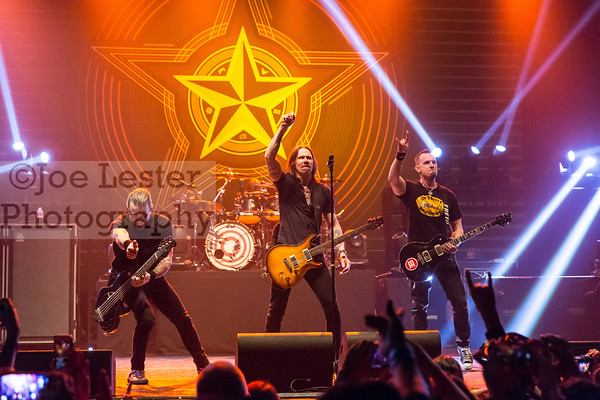 Alter Bridge - The Wiltern, Los Angeles, CA. 2-19-17 (All Access)