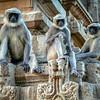Three Wisemen, Hampi, India