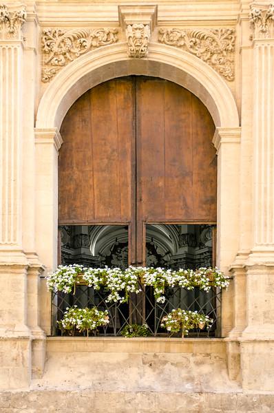 Noto church window