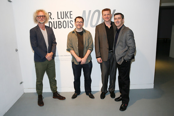 Sandow Birk and Luke DuBois Exhibition Opening