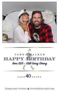 Walker's Surprise 40th Birthday