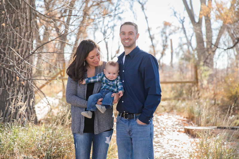 Holmquist family at McKay Lake