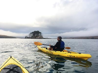 Tomales Bay Kayak/Camp: Oct 1-2, 2016