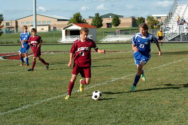 WMHS Boys JV Soccer Vs BB