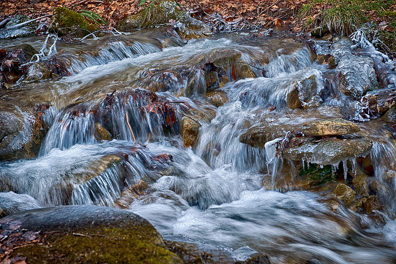 Icy Cold Mountain Stream   #1056