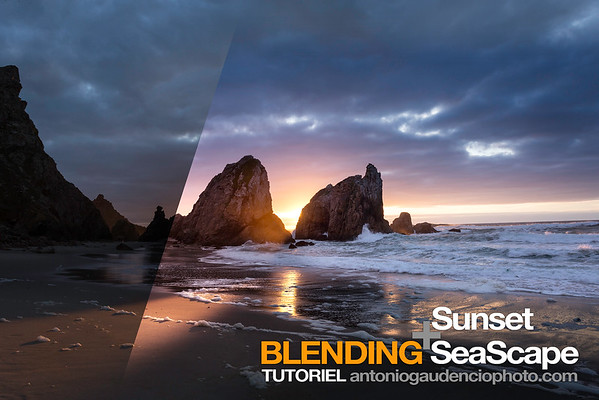 TUTORIEL Blending SeaScape & Sunset