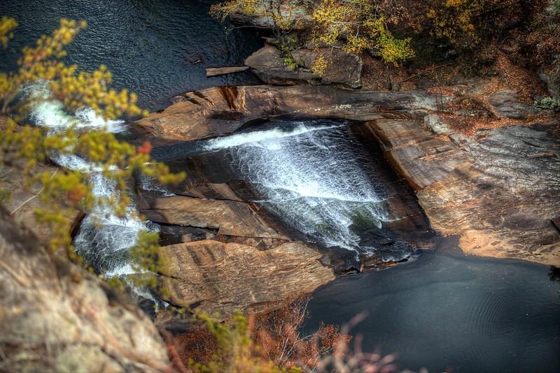 Tallulah River in Tallulah Gorge near Tallulah Falls, GA