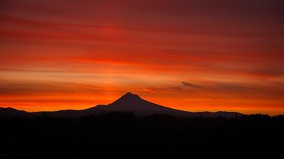 Sunrise from work - 2019/10/12