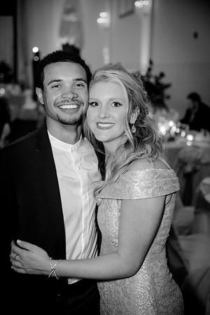 Hayley & Ryan B/W Wedding Photos