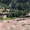 2019 08 14 Wells Rock Climbing