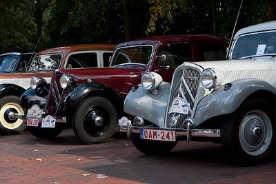 Zandbergrun 2009 - Aankomst en oldtimers