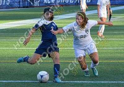 Foxboro-Mansfield Girls Soccer 09-22-14