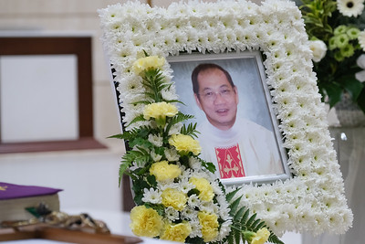 Funeral of Fr William Lim