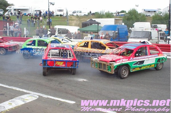 1300 Saloon Stock Cars, Hednesford, 13 September 2015