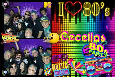 Cecelia's 80' Birthday Bash!
