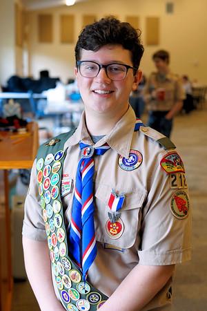 Christopher Hamilton Eagle Scoutmaster 2019