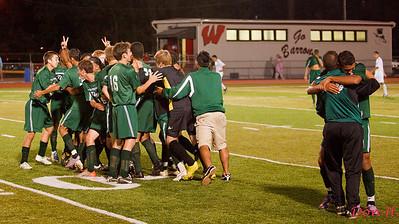 SPHS soccer vs Woodbridge 9/21/11