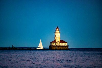 Lighting Up the Harbor