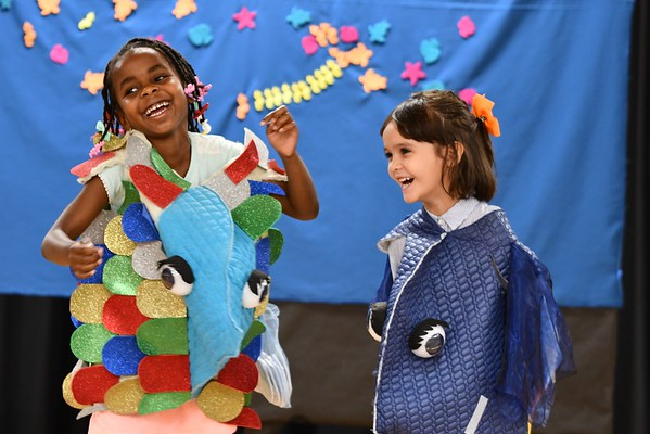 "Pre-Kindergartners Dazzle in Performance of ""The Rainbow Fish"""