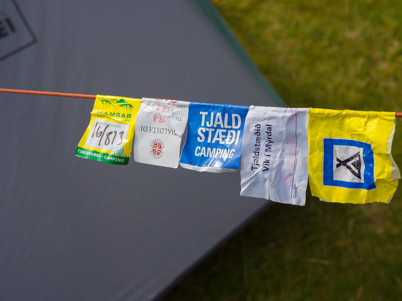 This is how they know if you've paid for your campsite