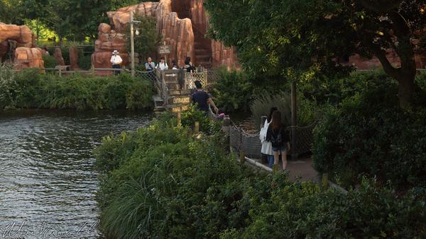 Tokyo Disney Resort, Tokyo Disneyland, Westernland, Mark Twain, Mark, Twain, Riverboat, Steamboat, Tom Sawyer Island, Tom Sawyer, Tom, Sawyer